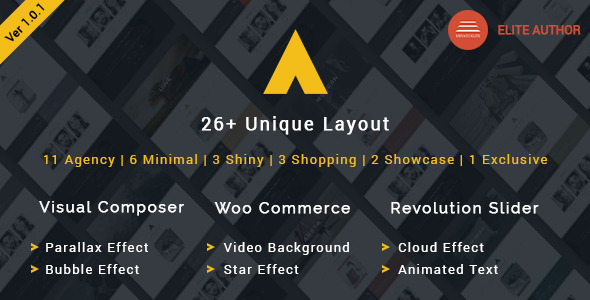 11 most popular multipurpose responsive wordpress theme