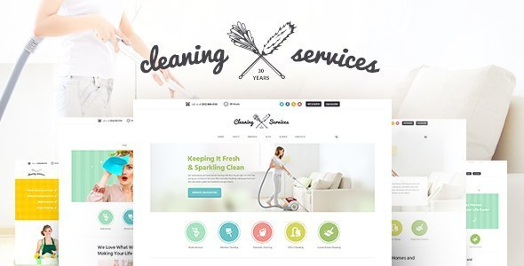 Most Popular Cleaning Business Theme