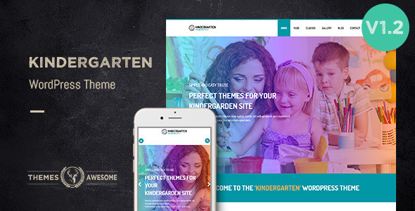 kindergarten wordpress