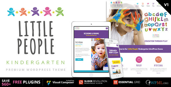 little kids wordpress theme