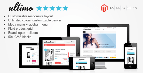 magento responsive wordpress theme