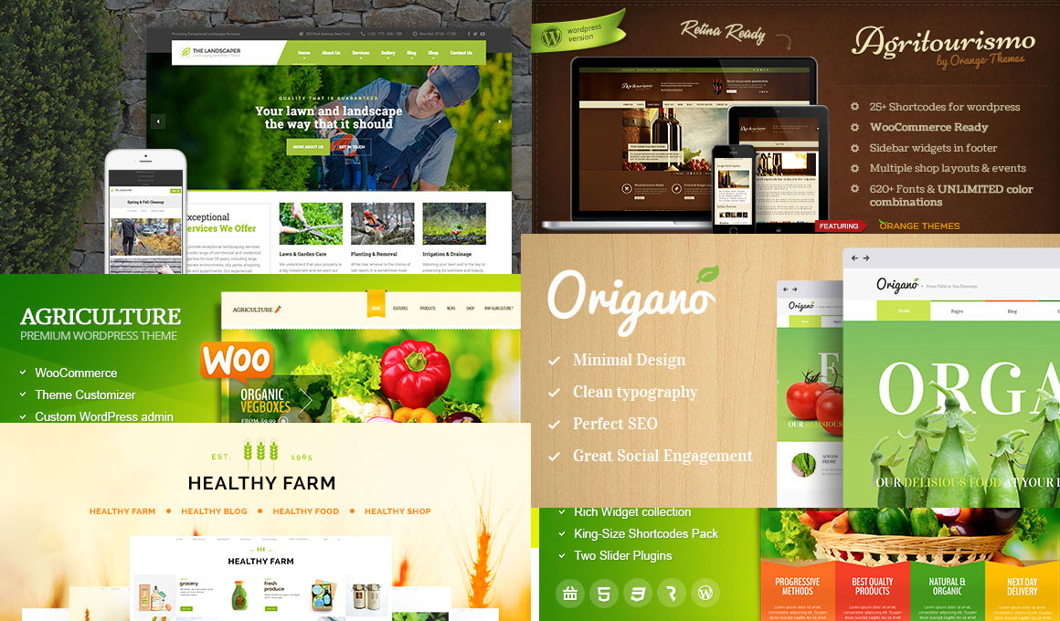 Best Agriculture and Farm Wordpress Themes