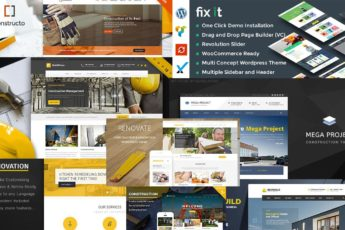 Best Construction Company WordPress Themes