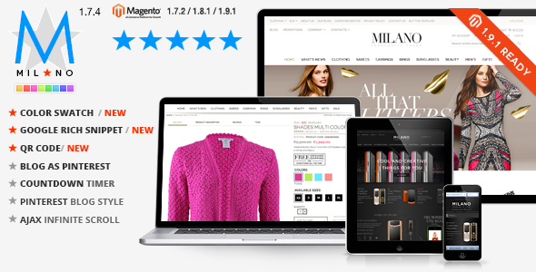 Responsive Magento Template