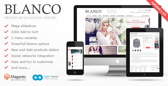 Fashion Responsive Magento Theme