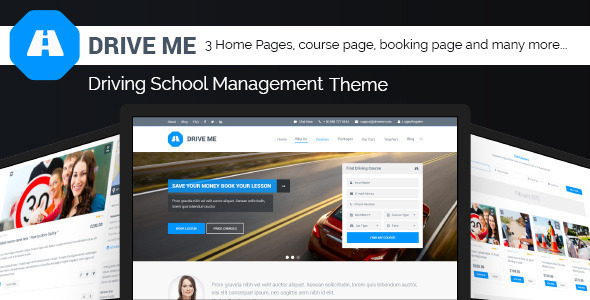 DriveMe---Driving-School-WordPress-Theme