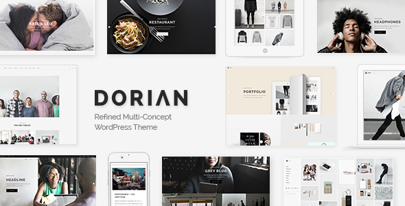 top 10 multi concept WordPress theme