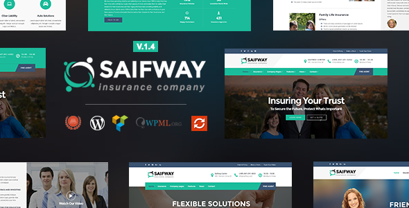 10 Best Insurance WordPress Themes