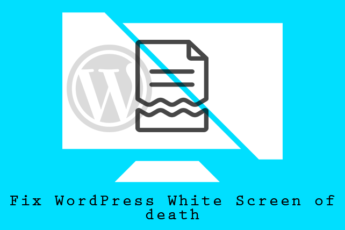 "How to fix white screen of death ""blank white screen"" in WordPress"