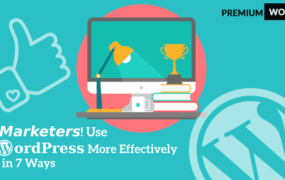 Marketers! Use WordPress More Effectively in 7 Ways