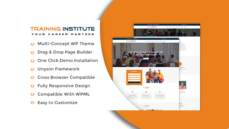 Best Education WordPress Theme and Training Institute WordPress Themes of 2017