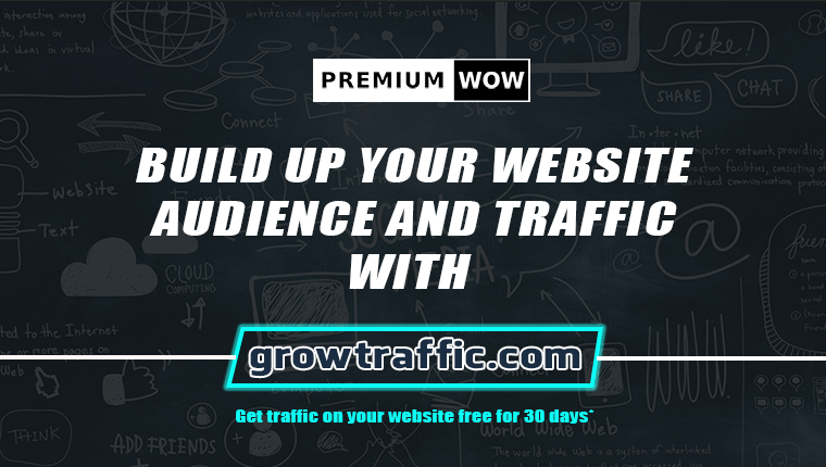 Get Traffic for free with Growtraffic.com